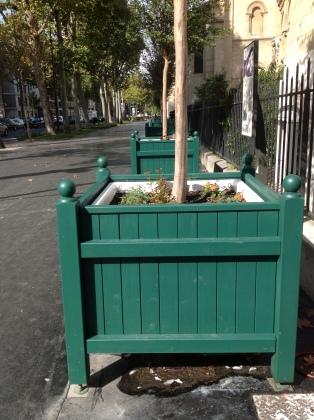 Bacs de Fleurissement, Neuilly sur Sein