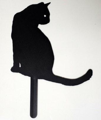 Décoration jardin chat (bordures)