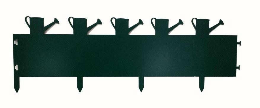 Décoration jardin arrosoirs (bordures)