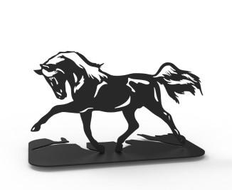Décoration cheval au trot