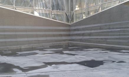 Couverture de la cascade en pierres par la société EDM
